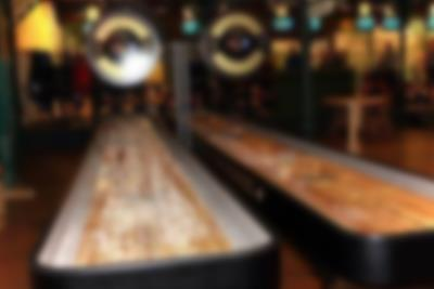 Play a game of shuffleboard at Lalandia